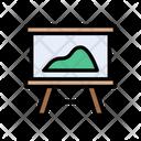 Board Blueprint Design Icon