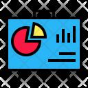 Presentation Data Canvas Icon