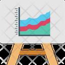 Presentation Board Board Chart Icon