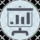 Business Presentation Board Icon