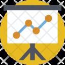 Presentation Analytics Stats Icon