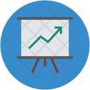 Easel Presentation Whiteboard Icon