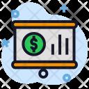 Presentation Money Chart Icon
