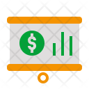 Presentation Money Chart Icon