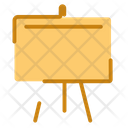 Whiteboard Presentation Board Icon
