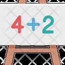 Maths Math Sum Education Icon