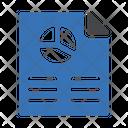 Presentation Document Presentation File Business Analysis Icon