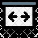 Presentation Horizontal Slide Icon