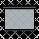 Screen Board Meeting Icon