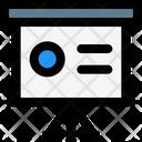 Presentation Shape Icon
