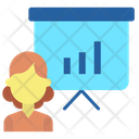Ianalysis Chart Presenter Presentation Icon