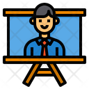 Manager Working Organization Icon