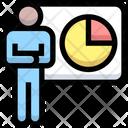 Presenter Presentation Employee Icon