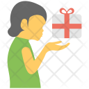 Presenting Gift Icon
