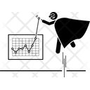 Presenting Graph Icon