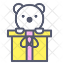Presents Bear Gifts Icon