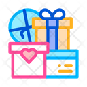 Wedding Presents Married Icon