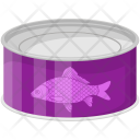 Canned Fish Tin Icon