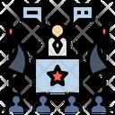 President Policy Communique Icon