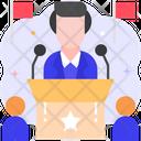 President Boss Ceo Icon