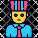 President Election Politician Icon
