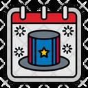 Presidents Day Calendar Icon