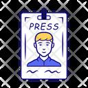Press Pass Icon