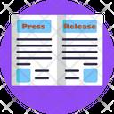 Press Relese Icon
