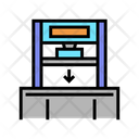 Pressing Machine Color Icon