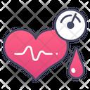 Pressure Hypertension Medical Icon