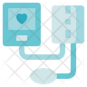Medical Service Pressure Gauge Icon