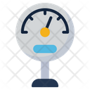 Pressure Meter Technology Icon