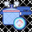 Pressure Cooker Cooker Steamer Icon