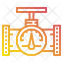 Pressure Gauge Energy Power Icon