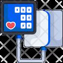 Pressure Gauge Pressure Meter Speedometer Icon