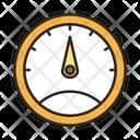 Pressure Meter Pressure Guage Oil Indicator Icon