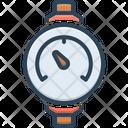 Pressure Meter Manometer Ammeter Icon