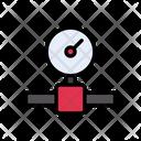 Pressure Meter Gauge Icon