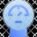 Pressure Gauge Meter Icon