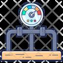 Pressure Gauge Pressure Meter Dashboard Icon