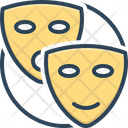 Pretend Mask Drama Icon
