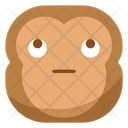Pretend Monkey Emoji Icon