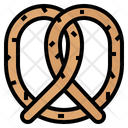 Bake Eat Pretzel Icon