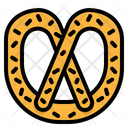 Pretzel Sweet Food Icon