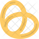 Pretzel Baked Bread Icon