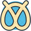 Pretzel Bread Bakery Icon
