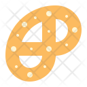 Pretzel cookie Icon