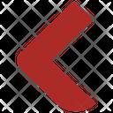 Previous Direction Arrow Icon