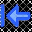 Previous Left Arrow Icon