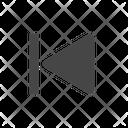 Rewind Backward Track Icon